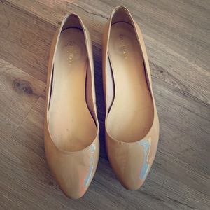 Cole Haan Nike Air nude patent flats size 8